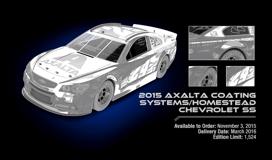 2015 Axalta Coating Systems/Homestead Chevrolet SS - Available to Order: November 3, 2015